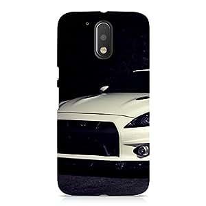 Hamee Designer Printed Hard Back Case Cover for Motorola Moto G4 Design 4097