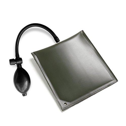 TRIXES aufblasbares Montagekissen Universal Pump-Keil Luftkissen Spreizkissen Druckluftwerkzeug 100kg - für Montagehilfe Fenster Türen Tore -