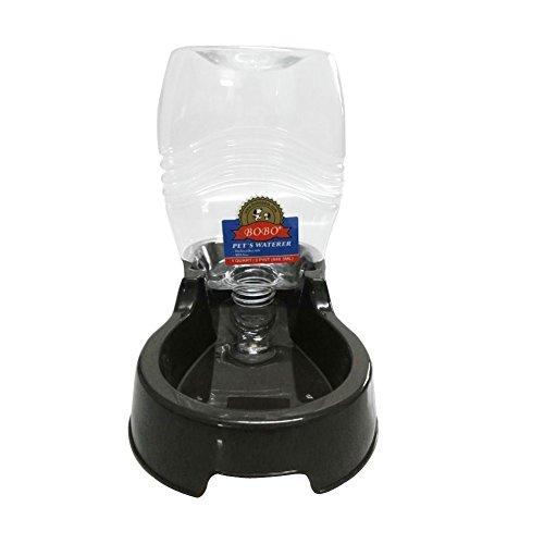 he Trinker tragbar Hund Schüssel Speisen Feeder Puppy Wasser Spender 946.3ml selbst Bewässerung Drink Gravity Flasche Schüssel für kleine Hunde Katzen und andere Tiere (Halloween-rezept-box)