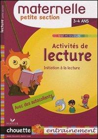 Activités de lecture maternelle. Petite section. 3-4 ans. Per la Scuola elementare