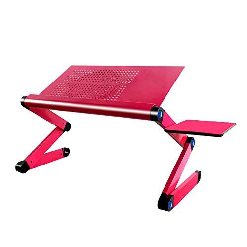 GAOJIAN Portable Mobile Laptop Standing Desk Für Bett Sofa Laptop Klapptisch Notizbuch Schreibtisch Mit Mauspad Für Bureau Meuble Büro , a (Tischdecke Tisch Terrasse Runde)