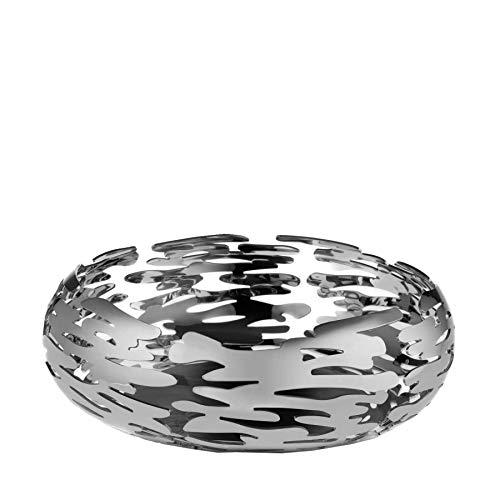 Alessi Barknest Schale, rund, Edelstahl 18/10, Silber, Einheitsgröße