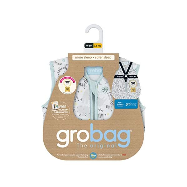 Grobag 1.0 Tog Jungle Boogie Saco de dormir, 18 – 36 meses