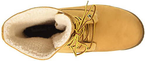 Timberland Mount Holly Ftw_woodhaven Fleece Roll Down Wp Ins, Bottes Classiques femme Marron (wheat)