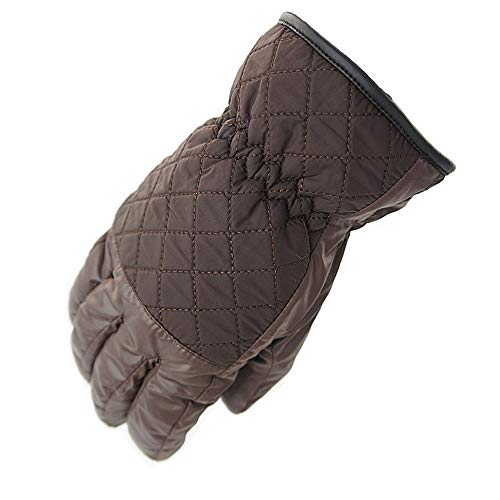 SPRRC Wasserdicht winddicht Thermo Handschuhe Winter Touch Screen warme Handschuhe Ski-Screen-Reithandschuhe Männer und Frauen Plaid Winter-windundurchlässige warme Fleece Outdoor Radfahren Eindickung