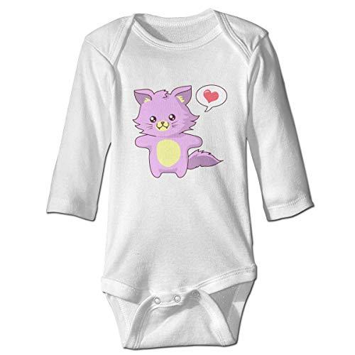 Daisy Kostüm Baby - Daisy Evans Rosa Katze Baby Body schöne Strampler aus Baumwolle Strampler Kostüm, 2 t