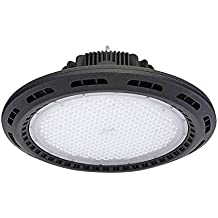Campana Led industrial UFO 120W chip Philips + MeanWell driver, Blanco frío