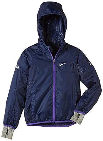 NIKE vapor veste pour garçon Bleu Midnight Navy/Reflective Silver S