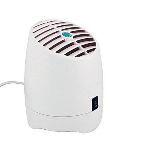 Automatische Sterilisator (TJUAN Ozon-Reiniger 200mg / H, O3 Luftreiniger Deodorizer Sterilisator Entfernen Zigarettenrauch, Geruch Geruch, Bakterien, Mini Luftfilter für für Kleines Schlafzimmer, Haustiere Zimmer)