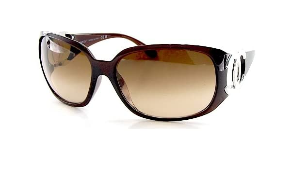 New Chanel Sunglasses 6014 538 13 Brown Gradient Shades Brown Frame Size   64-16-120  Amazon.co.uk  Clothing 8f65d0dd7