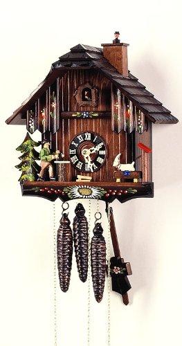 """'isdd Cuckoo Clock-Uhr CUCÚ, Design Haus der Schwarzwald, Ziege, limpiachimeneas"""""""