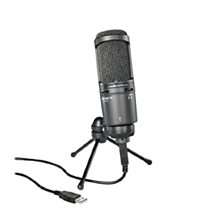 Audio-Technica AT2020USB PLUS USB Microphone