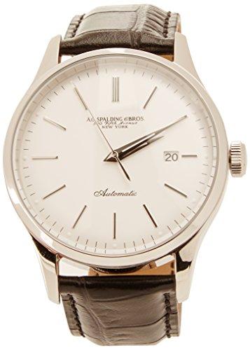 A.g. spalding & bros. orologio analogico al quarzo unisex con cinturino in pelle 174336u832