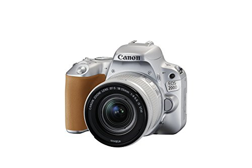 Canon EOS 200D + 18-55 IS STM SLR Camera Kit 24.2MP CMOS 6000 x 4000pixels Silver - Digital Cameras (24.2 MP, 6000 x 4000 pixels, CMOS, Full HD, Touchscreen, Silver)