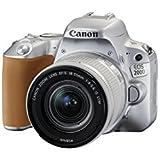 Canon EOS 200D SL EF-S 18-55mm f/4-5.6 IS STM SL EU26 Appareil photo numérique 25.8 Mpix Zoom optique 10 x Bluetooth/NFC/Wi-Fi Argent