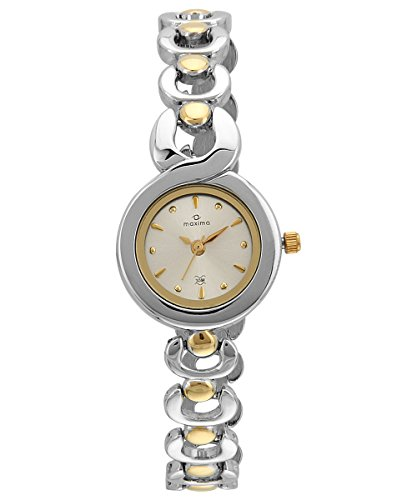 Maxima Analog Silver Dial Women's Watch - 36331BMLT