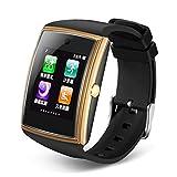 Unbekannt Smart Watch IOS Android Touchscreen Pulsmesser Schrittzähler Alarm Smart Armband Uhr Informationen Freihändige Anrufe Finden Sportuhr,Gold