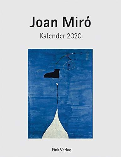 Joan Miro 2020: Kunst-Einsteckkalender