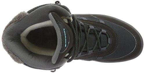 Lowa Trident Ii Gtx, Chaussures de Randonnée Hautes Femme Noir (anthrazit/petrol)