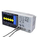"""KKmoon Oscilloscopio a Segnale Memoria Digitale 2CH +1 Generatore di Forme d'onda a Canale Arbitrario/Funzione 100MHz 7""""TFT Generatore di Segnale 1GSa / s 25MHz 12bit 4nS / div-80S / DIV"""