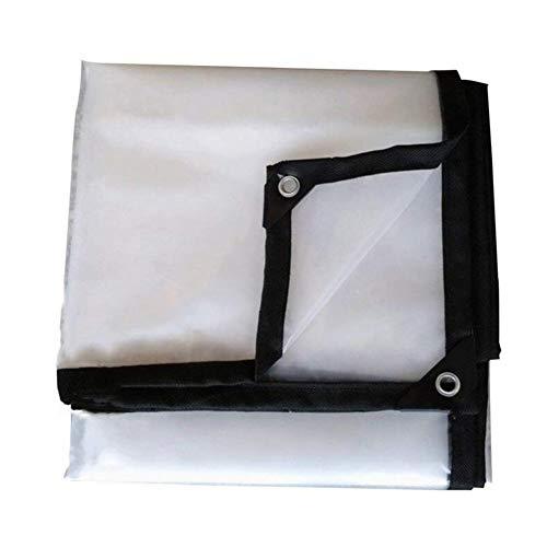LIXIONG Transparente Wasserdichte Plane Gewebeplane Bodenabdeckungen Zelt Kunststoff Verdickt Verstärkt Sonnenschutz, Multi Größen, 120G / M² (Farbe : A, größe : 3X10m)