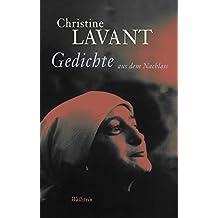 Gedichte aus dem Nachlass (Christine Lavant: Werke in vier Bänden 3) (German Edition)