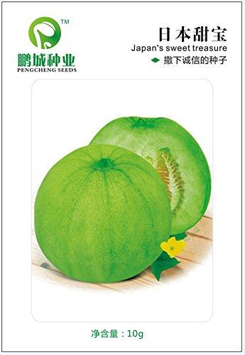 Graines de fruits japonais doux trésor de semences Melon crujientes et deliciosos peuvent pasarse a pot de 10 g
