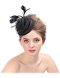 Crystallly Gorros Vestido De Moda Cáñamo Novia Sombrero De Boda Mujeres Estilo  Simple Penny Sombrero De 1a4839df89ce