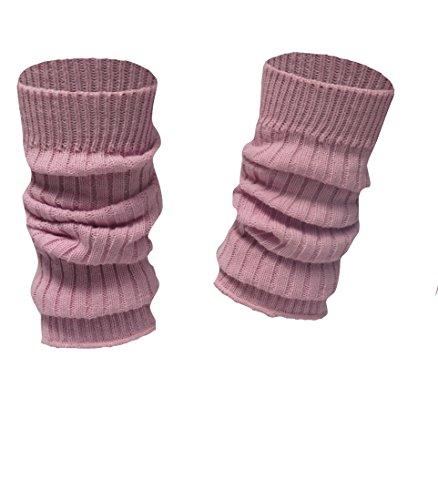 socken-und-mehr Kinderstulpen in vielen Farben rosa - Mädchen-stulpen