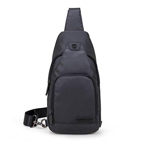 Sport Schultertasche, SHOWTIMEZ Modische Freizeit Sling Rucksack Elegante Brusttasche Umhängetasche für Radfahren Freizeitsaktivität Kurze Spaziergänge oder Citytrips