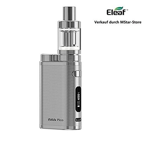 Eleaf iStick Pico TC 75 Watt / MELO 3 Mini Full Kit Farbe Voll Silber