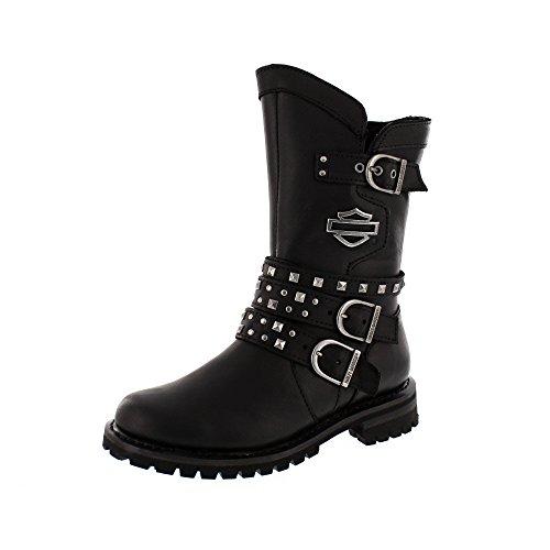 HARLEY DAVIDSON Women - Boots ADRIAN - black, Schuhgröße:EUR (Damen Stiefel Harley)