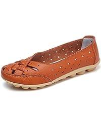 Amazon.es  Naranja - Mocasines   Zapatos para mujer  Zapatos y ... 7bfc26290732