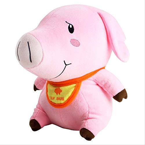 Ylout Plüschtier 30cm, Hawk Pig Piggy Boar Hat Weiche Kuscheltierpuppen -