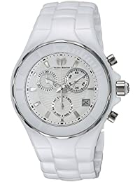 Technomarine Women's 'Cruise' Quartz Ceramic Casual Watch, Color White (Model: TM-115314)