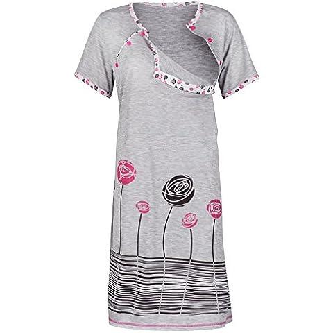 Happy Mama. De Las Mujeres Maternidad Enfermería La Lactancia Materna Camisón Transparente camiseta vestidos de novia.