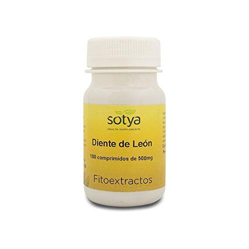 Sotya Diente De León 500 Mg 100 Comprimidos