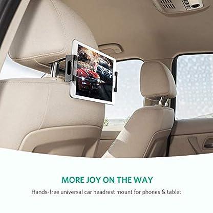 UGREEN-Tablet-Halterung-Auto-Kopfsttze-Autohalterung-360-Grad-Drehung-Einfache-Montage-Unterstzt-fr-46-129-Zoll-wie-iPad-Pro-iPad-Mini-Samsung-Galaxy-Tab-Surface-Pro-34-usw-Schwarz