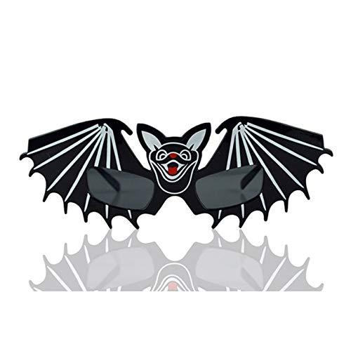 Gesichter Zwei Batman Kostüm - WSJDE Halloween Kreative Sonnenbrille Gesicht Kürbis Geld Sexy Frauen Verrückte Gläser Geburtstag Weihnachtsfeier Dekoration Streich Spielzeug2