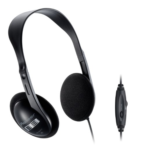 Pioneer Open air type dynamic stereo headphones black SE-A611TV (japan import) (Open Air Stereo)