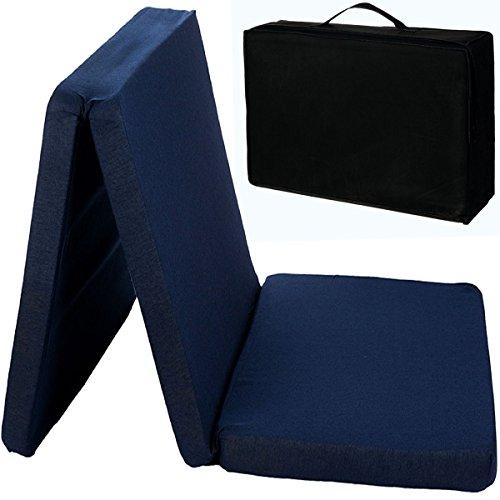 *Reisebettmatratze mit Transporttasche (120 x 60 cm) für Kinderbett / Reisebett Matratze Baby Kind*