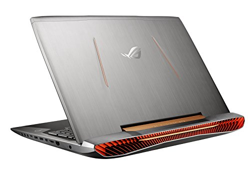"Asus ROG G752VY-GB406T Notebook, Display 17.3"" UHD /4K, Processore Intel Corei7-6820HK, RAM 64 GB, HDD 1 TB + 2 x 512 GB SSD, Scheda Grafica nVidia GeForce GTX 980M, Argento"