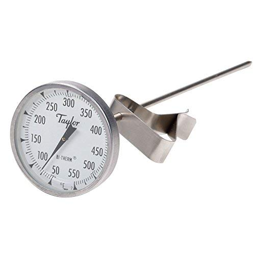 Taylor Precision 6084j8 Professional bitherm Candy/Deep Fry Thermometer, 20,3 cm Taylor Candy Thermometer