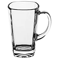 Luminarc Glass Sterling Tea Mug, Set of 6 - Clear