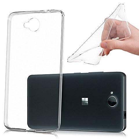 ZIMA® UltraSlim coque gel transparent compatibilité parfait pour Microsoft Nokia Lumia 650 / Dual SIM