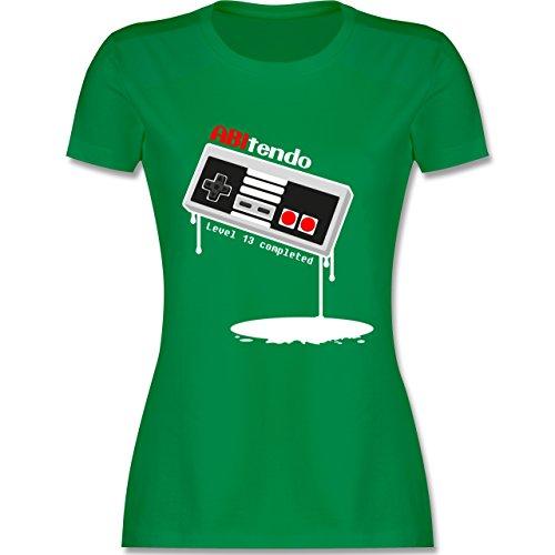 Abi & Abschluss - ABItendo - Level 13 completed - tailliertes Premium T- Shirt mit
