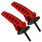 Spares2go Lot de 2 leviers de serrage à libération rapide pour tondeuse à gazon...