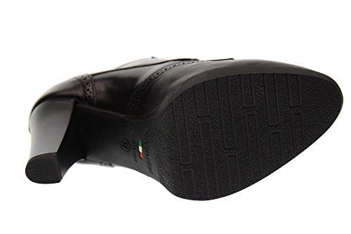 NERO GIARDINI Scarpe Donna Tronchetti con Tacco A719121D/100 Nero Nero