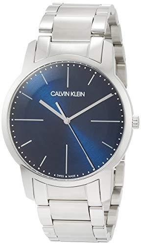 Calvin Klein Herren Analog Quarz Uhr mit Edelstahl Armband K2G2G1ZN