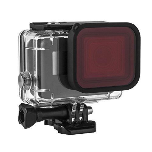 Kupton Rotfilter für Kupton GoPro Hero7/(2018) 6/5 Gehäuse Black And White Kamera